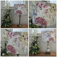 VOYAGE COUNTRY HEDGEROW LAMPSHADE IN CREAM OR LINEN SIZES - 20CM 30CM 40CM