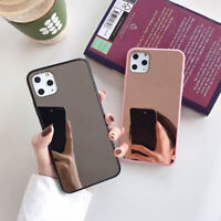Fashional Mirror TPU+Phone Case Cover For iPhone 7 8 Plus SE2nd XR 11 Pro Max Xs