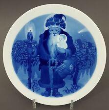 (MT485) Meissen Weihnachtsteller um 1900, Entwurf Willy Münch-Khe