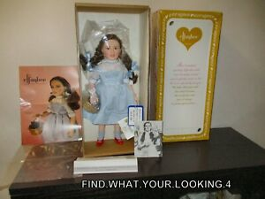 VINTAGE 1984 EFFANBEE JUDY GARLAND AS DOROTHY DOLL  WITH ORIGINAL BOX AND PAPERS