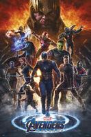 - Spider-Man 24x36 Avengers: Endgame Movie Poster Peter Parker Holland v22