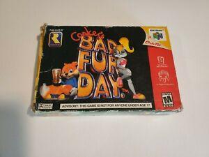 Conker's Bad Fur Day (Nintendo 64 N64, 2001) ☆ BOX ☆