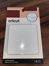 """Cricut Coaster Blanks - Square 3.75"""" x 3.75"""" - For use with Infusible Ink/Sheets"""