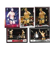 TOPPS WWE 5 CURTIS AXEL WRESTLING CARDS A NICE MIX