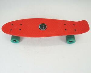 "22"" Skateboard Mini Cruiser Great Style Board Plastic Deck Kids Teens"