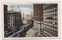 greeley square and broadway , new york city
