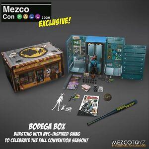 New Mezco One:12 Con 2020 Fall Edition Bodega Box Hazard Squad Commander Gomez