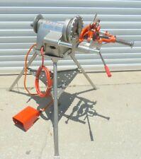 Ridgid 300-T2 Pipe Threader Threading Machine w/ Tristand & Foot Pedal