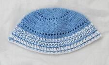 Kippah Freak Blue White Kippa Yamaka Kippot Frik Kippot Judaica Yarmulke Crochet