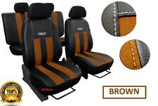 Eco-Leather + Alicante Tailored Set Seat Covers SEAT TOLEDO Mk4  2012 - 2018