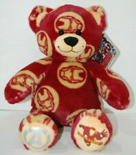 "Avengers Iron Man Bear Plush by Marvel Build A Bear Workshop 17"" NWT"