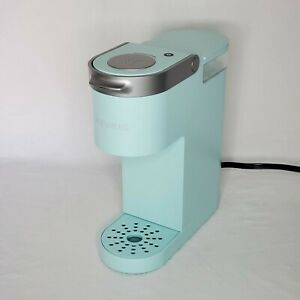 Keurig Coffee Maker, Single Serve K-Cup Pod Coffee Brewer, Oasis Blue - No Box