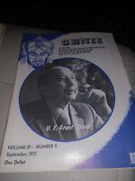 U F Grant Issue 1975 Vintage Genii Magazine Mak Magic