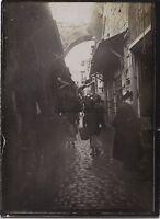 Gerusalemme Palestina Israele da Viaggio in Medio Oriente 1909 Vintage Argento