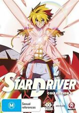 Star Driver : Collection 2 : Eps 14-25 (DVD, 2012, 2-Disc Set) New  Region 4