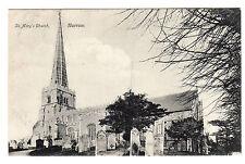 St Mary's Church - Harrow Photo Postcard 1907