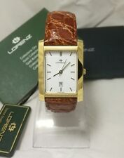 Orologio Uomo Oro 18 kt Lorenz Classic Solid 18CT Gold Swiss Mens Watches 02304A