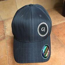 d1279fa5283ba Yupoong Men Baseball Cap Gentleman Jack Black Pinstripe Flexfit Trucker Hat  L-Xl
