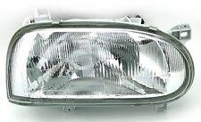 FEUX PHARE AVANT DROIT SIMPLE OPTIQUE H4 VW GOLF 3 III BREAK 1.9 D