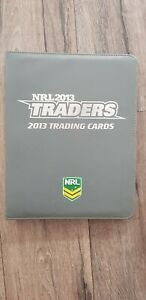 2013 NRL Traders Trading Cards Base Set (192)+ Official Album (with Pages)