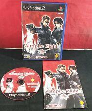 Vampire Night Sony Playstation 2 VGC