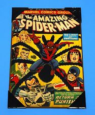 """Marvel The Amazing Spider-Man #135 19"""" x 13"""" Wooden Poster NEW"""
