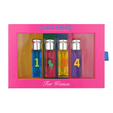 RALPH LAUREN THE BIG PONY FRAGRANCE COLLECTION GIFT SET FOR WOMEN BRAND NEW