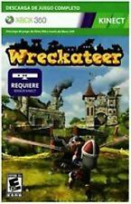 Wreckateer Xbox 360 Full Game Download Card <Brand New - Fast Ship - In Stock