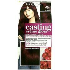 1 x LOREAL Casting Creme Gloss 360 Black Cherry