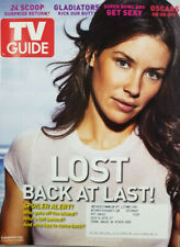 Tv Guide 2008 Magazine Lost Evangeline Lilly Cover - Gladiators - Oscars -Ex