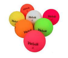 48 Golf Balls- Volvik Vivid Matte Multi Color Mix AAAA