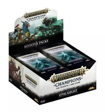 5 Booster Displays Warhammer Age Of Sigmar Champions Wave 2 Onslaught englisch