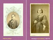 2 CDV à CETTE & MARSEILLE : M. & Mme DREVET, COUPLE, FAMILLE DREVET -P6