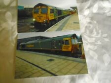 2 6x4 Photos of Freightliner Class 66-66595 at Derby Midland Station