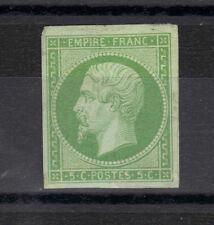 NAPOLEON  EMPIRE N°12   5 c vert NEUF 1854 , sans aminci, sans charniere.STAMP
