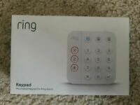 NEW SEALED Ring Keypad for Ring Alarm System (LATEST 2nd Generation)