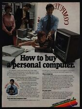 1979 APPLE Computer - How To Buy A Personal Computer  - STEVE JOBS - VINTAGE AD
