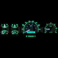 NEW 92-96 Ford Bronco Dash Instrument Cluster Gauge Green SMD LED LIGHT BULB KIT