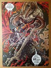 Spawn Vs Violater Image Comics Poster by Greg Capullo