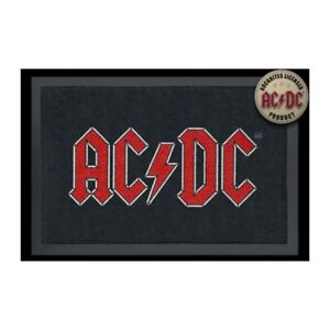 Foot Mats/Carpet - AC/Dc - Logo (15 11/16x23 5/8in) 100816