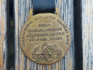 International Harvester Company, Watch Fob, Uhrenband, Königsberg Ostpreussen