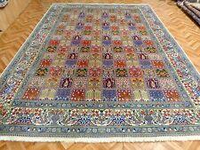 Orientteppich Handgenüpfter Teppich mit Seide  Felderteppich 340x245 Tip Top
