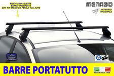 Barre portatutto Peugeot 208 2015> 5 porte da TETTO auto acciaio porta kit per