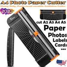 A4 Photo Paper Cutter Guillotine Card Trimmer Ruler Office Art Heavy Duty