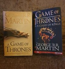 Game of Thrones Book & Clash Of The Kings Book by George R.R. Martin Books