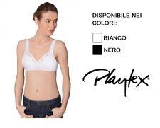 Playtex Criss Cross Cotton Line 6695 34 B Nero