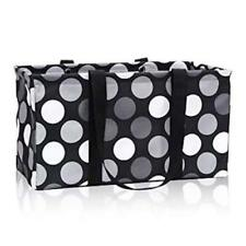 NEW Thirty One LARGE UTILITY tote laundry storage Bag 31 gift in Got Dots