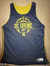UC Irvine #10 Basketball Practice Game Worn Reverse Adidas Jersey XL
