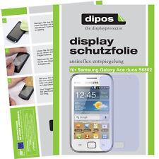 2x Samsung Galaxy Ace duos Pellicola Prottetiva Antiriflesso Proteggi Schermo