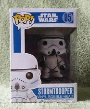 Star Wars Stormtrooper Blue Box #05 Funko Pop Vinyl Retired Rare Vaulted